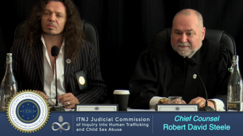 Chief Counsel Robert David Steele Speaks on the Purpose of the Judicial Commission of Inquiry (ITNJ Seating)