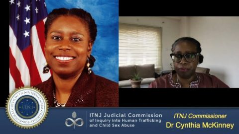 Commissioner Dr. Cynthia McKinney Speaks on the Judicial Commission of Inquiry (ITNJ Seating)