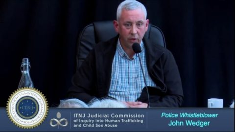 John Wedger – Police Whistleblower Gives His Testimony at the Judicial Commission of Inquiry (ITNJ Seating)