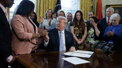 President Trump Signs Law Which Combats Online Sex Trafficking A Week Before the Launch of the ITNJ Judicial Commission of Inquiry