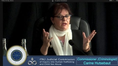 Commissioner & Criminologist Carine Hutsebaut Breaks Down the Criminal Psychology of the Illuminati  (ITNJ Seating)