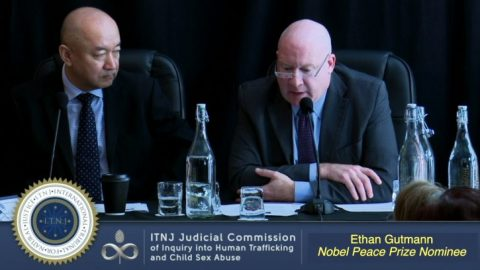 Ethan Gutman ~ Nobel Peace Prize Nominee Gives Testimony on Falun Gong Live Organ Harvesting (ITNJ Seating)